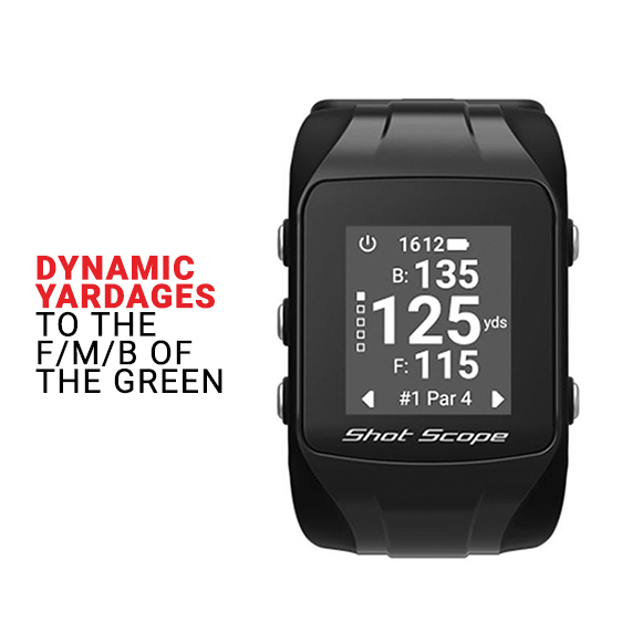 Shot Score - The ultimate golf GPS watch with Automatic Performance Tracking