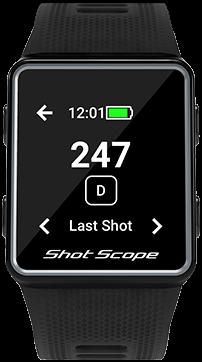 Measure Last Shot Distance