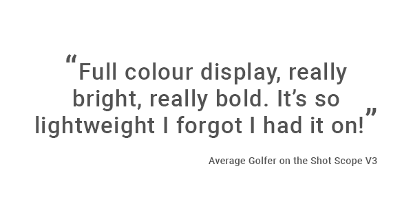 Average Golfer quote